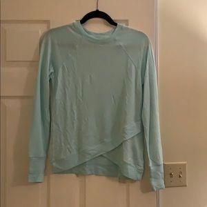 Athleta criss cross sweatshirt new with tags